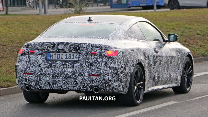 SPYSHOTS: G22 BMW 4 Series continues to shed skin Image #1058527