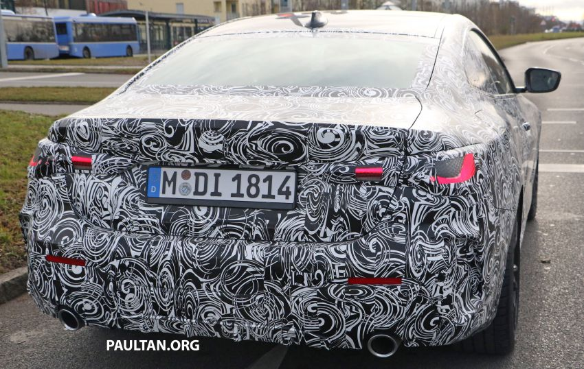 SPYSHOTS: G22 BMW 4 Series continues to shed skin Image #1058528