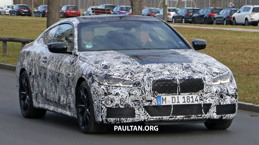 SPYSHOTS: G22 BMW 4 Series continues to shed skin Image #1058517