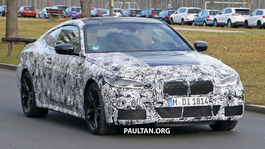 SPYSHOTS: G22 BMW 4 Series continues to shed skin Image #1058518
