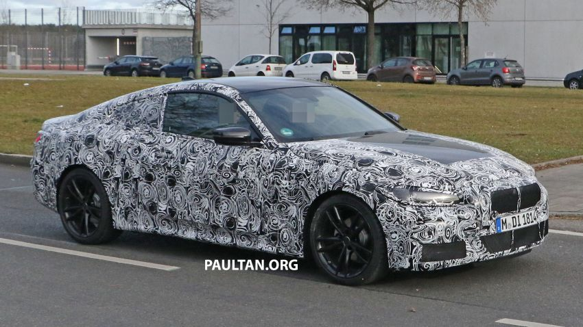 SPYSHOTS: G22 BMW 4 Series continues to shed skin Image #1058521
