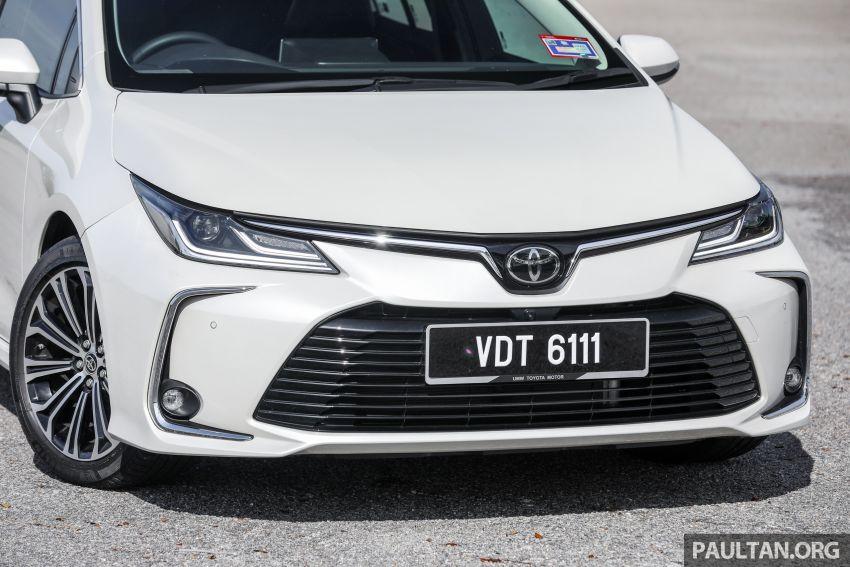 PANDU UJI: Toyota Corolla 1.8L generasi ke-12 – pakej kuasa sama, tapi ada kelebihan pada keseimbangan Image #1059284