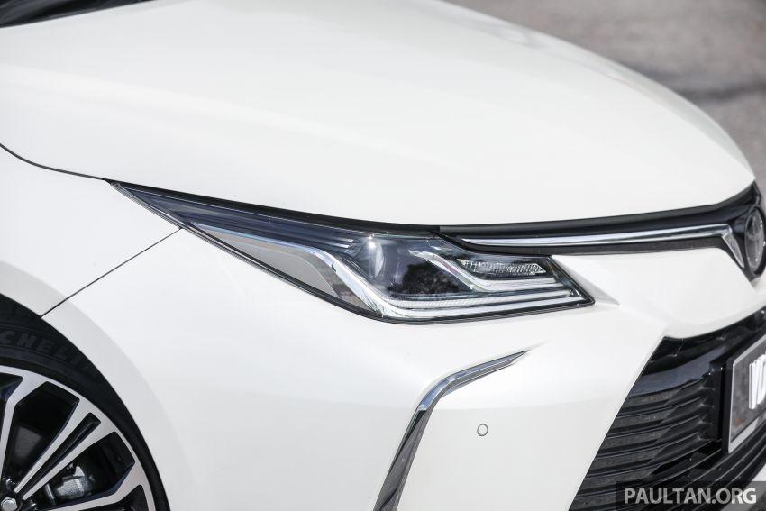 PANDU UJI: Toyota Corolla 1.8L generasi ke-12 – pakej kuasa sama, tapi ada kelebihan pada keseimbangan Image #1059286