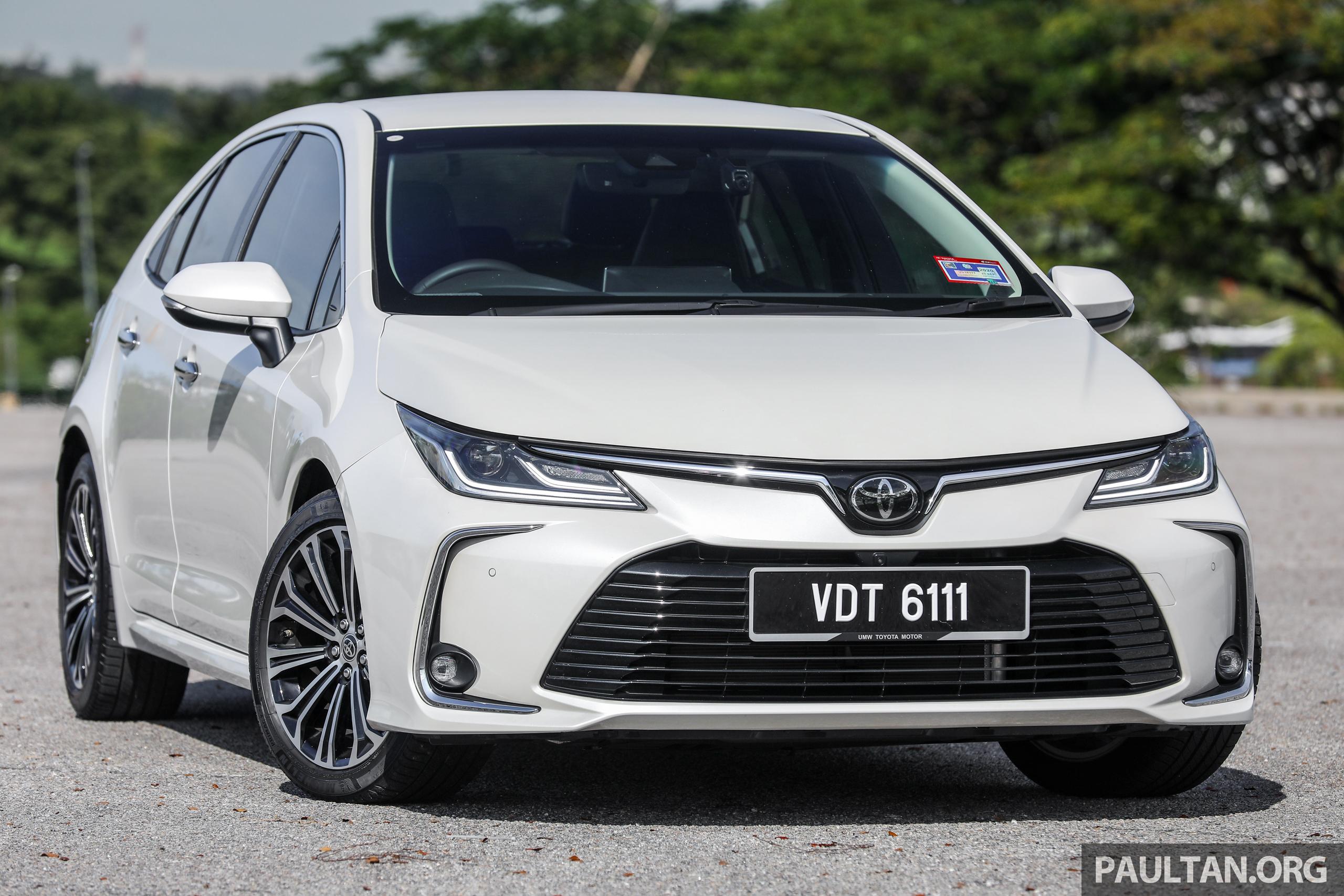 E210 Toyota Malaysia Corolla Altis 1.8G 2019_Ext-2 BM