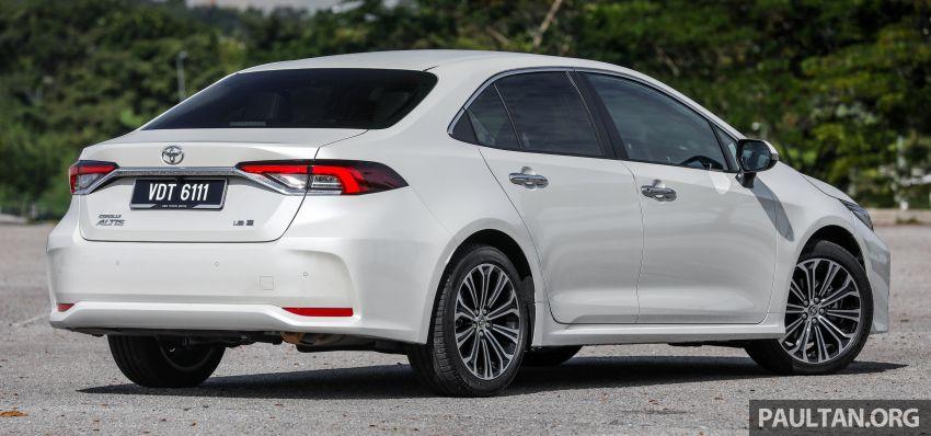 PANDU UJI: Toyota Corolla 1.8L generasi ke-12 – pakej kuasa sama, tapi ada kelebihan pada keseimbangan Image #1059275