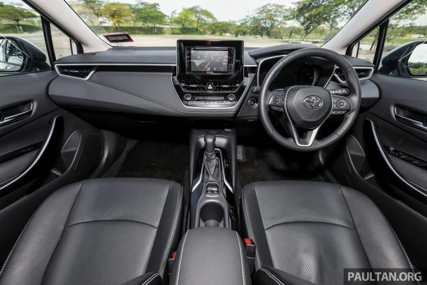 PANDU UJI: Toyota Corolla 1.8L generasi ke-12 – pakej kuasa sama, tapi ada kelebihan pada keseimbangan Image #1059308