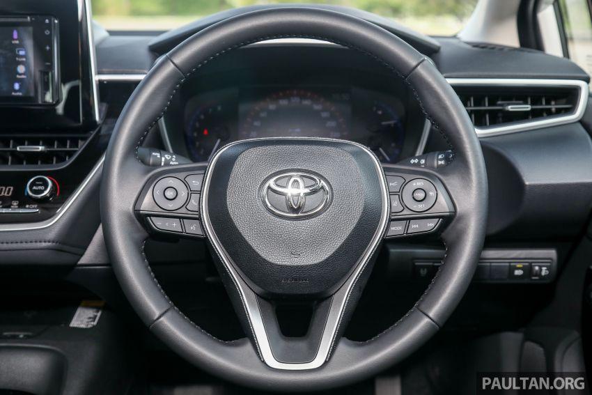 PANDU UJI: Toyota Corolla 1.8L generasi ke-12 – pakej kuasa sama, tapi ada kelebihan pada keseimbangan Image #1059317