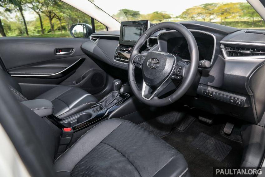 PANDU UJI: Toyota Corolla 1.8L generasi ke-12 – pakej kuasa sama, tapi ada kelebihan pada keseimbangan Image #1059309