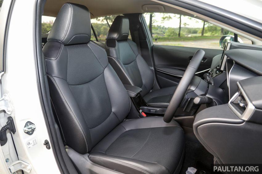 PANDU UJI: Toyota Corolla 1.8L generasi ke-12 – pakej kuasa sama, tapi ada kelebihan pada keseimbangan Image #1059351