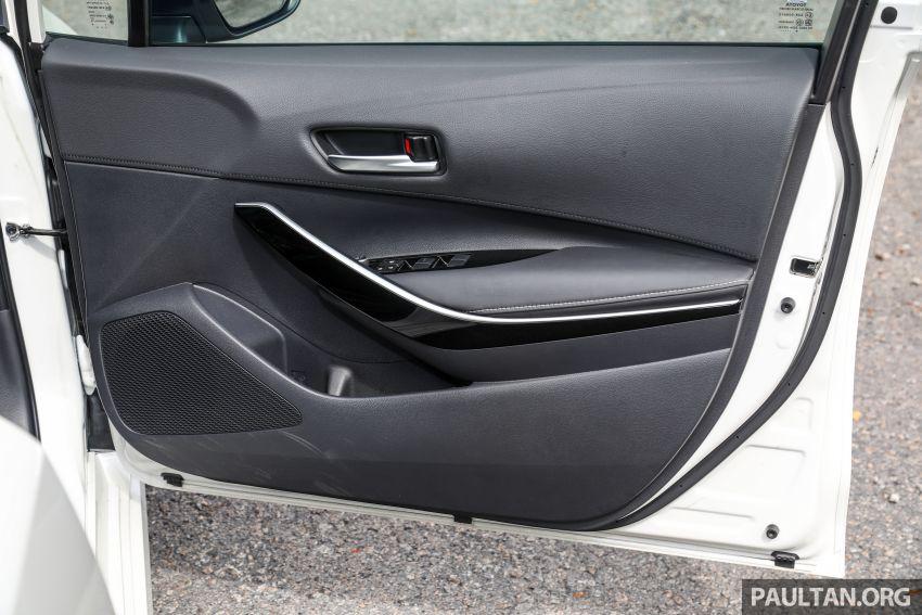 PANDU UJI: Toyota Corolla 1.8L generasi ke-12 – pakej kuasa sama, tapi ada kelebihan pada keseimbangan Image #1059354