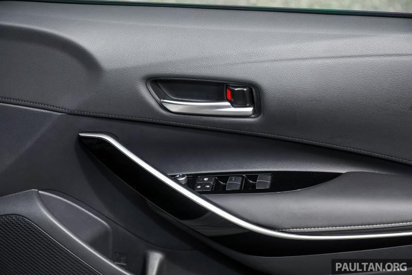 PANDU UJI: Toyota Corolla 1.8L generasi ke-12 – pakej kuasa sama, tapi ada kelebihan pada keseimbangan Image #1059355