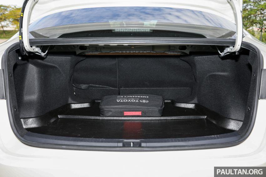 PANDU UJI: Toyota Corolla 1.8L generasi ke-12 – pakej kuasa sama, tapi ada kelebihan pada keseimbangan Image #1059362
