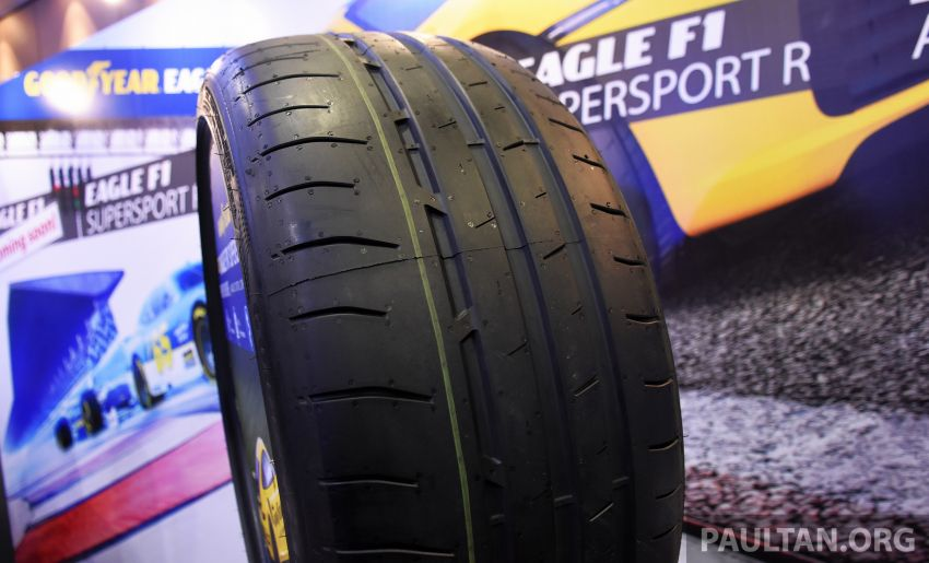 Goodyear Eagle F1 Supersport introduced in Malaysia – three-tier tyre range to make market debut next year Image #1057671