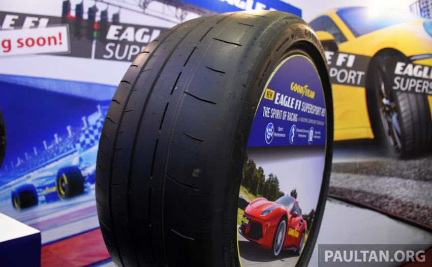 Goodyear Eagle F1 Supersport introduced in Malaysia – three-tier tyre range to make market debut next year Image #1057674