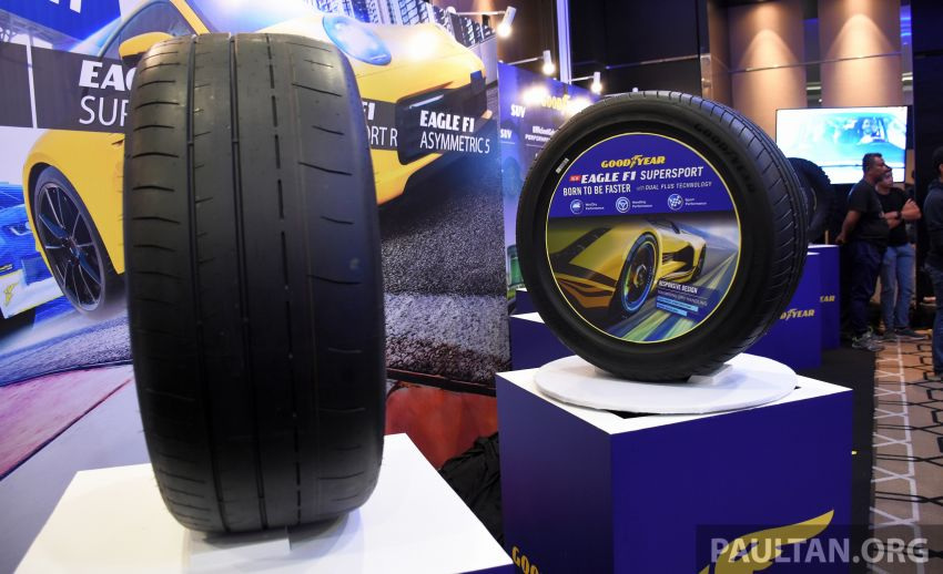 Goodyear Eagle F1 Supersport introduced in Malaysia – three-tier tyre range to make market debut next year Image #1057673