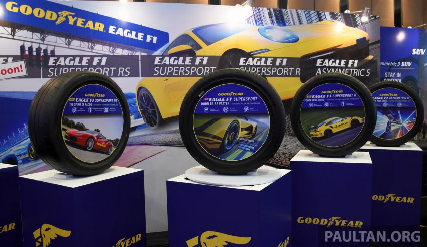 Goodyear Eagle F1 Supersport introduced in Malaysia – three-tier tyre range to make market debut next year Image #1057672