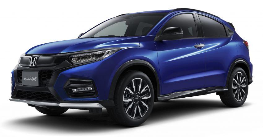 Honda Vezel Modulo X – HR-V lebih garang di Jepun; Touring Turbo 172 PS/220Nm & Hybrid 132 PS/156 Nm Image #1054814