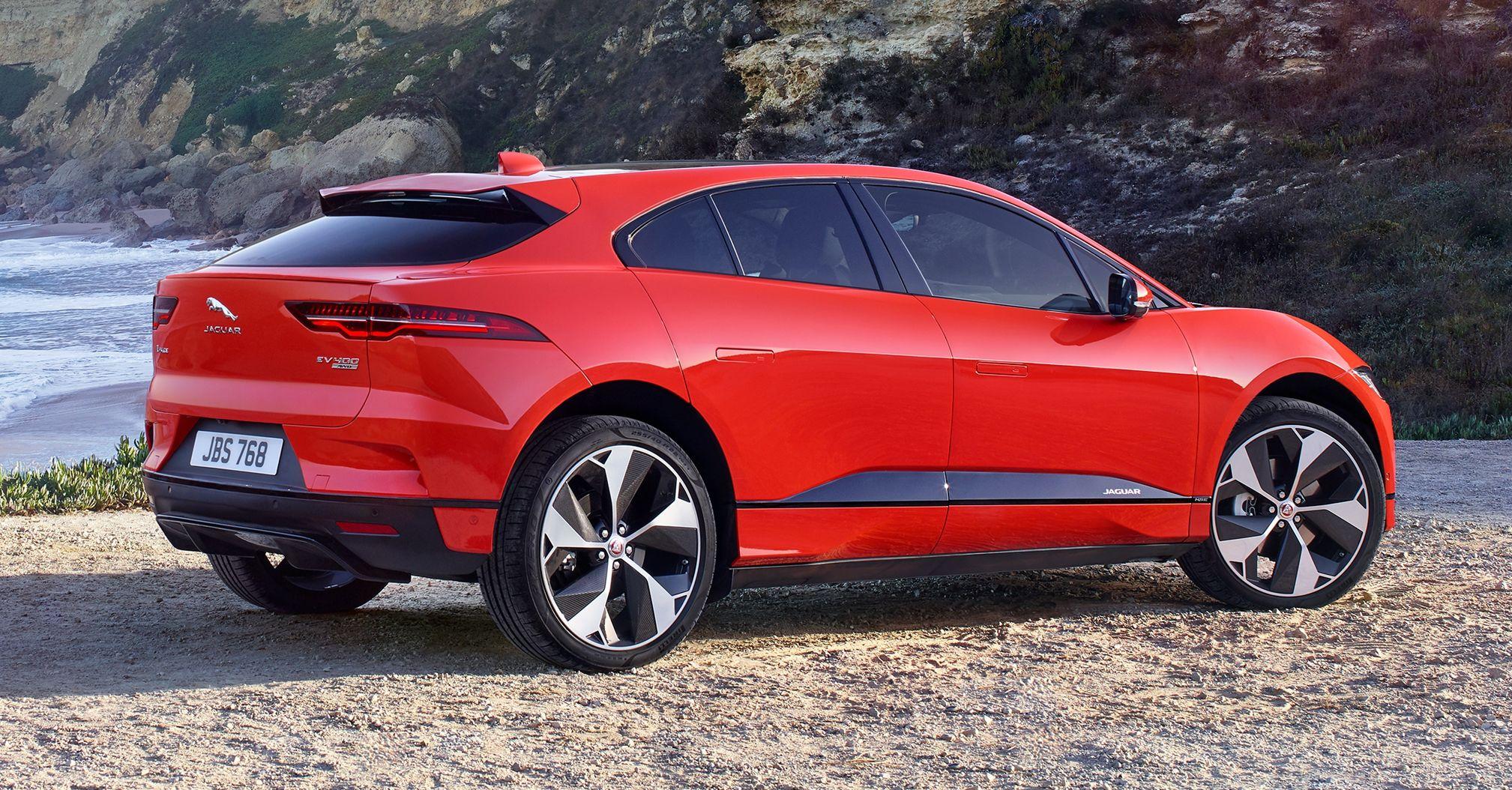 Jaguar I-Pace gets software update, enhances range Jaguar ...
