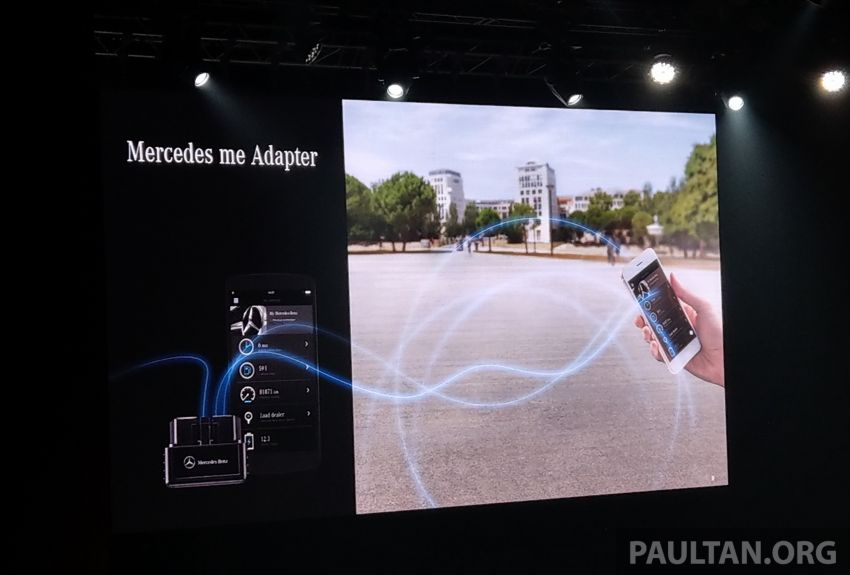 Mercedes me connect service introduced in Malaysia – Mercedes me Adapter available for older cars, RM250 Image #1057915