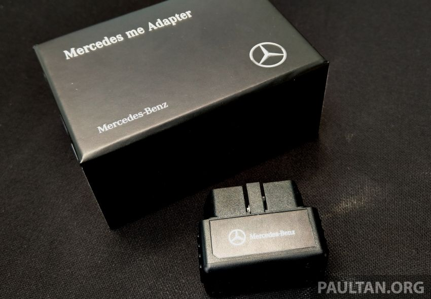 Mercedes me connect service introduced in Malaysia – Mercedes me Adapter available for older cars, RM250 Image #1057921