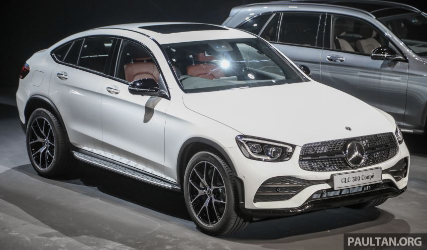 2020 Mercedes-Benz GLC300 4Matic Coupe facelift launched in Malaysia – new engine and MBUX, RM420k Image #1057877