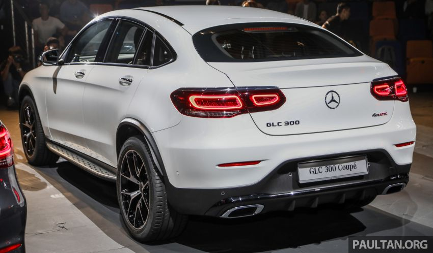 2020 Mercedes-Benz GLC300 4Matic Coupe facelift launched in Malaysia – new engine and MBUX, RM420k Image #1057878
