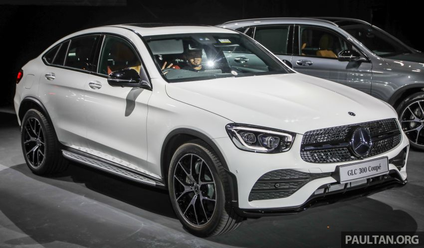 2020 Mercedes-Benz GLC300 4Matic Coupe facelift launched in Malaysia – new engine and MBUX, RM420k Image #1058012
