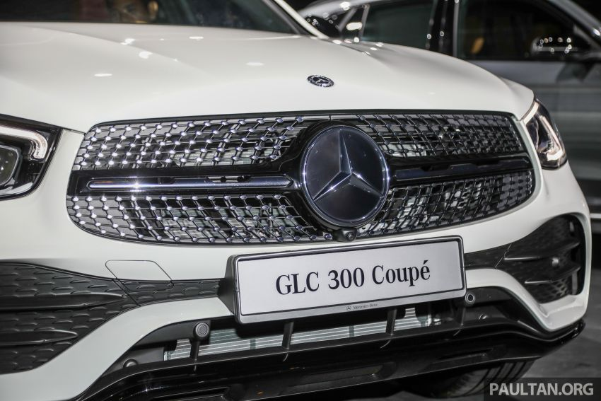 2020 Mercedes-Benz GLC300 4Matic Coupe facelift launched in Malaysia – new engine and MBUX, RM420k Image #1058035