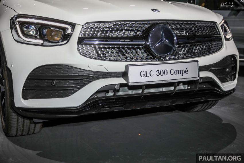 2020 Mercedes-Benz GLC300 4Matic Coupe facelift launched in Malaysia – new engine and MBUX, RM420k Image #1058038