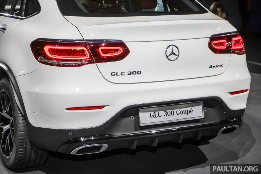 2020 Mercedes-Benz GLC300 4Matic Coupe facelift launched in Malaysia – new engine and MBUX, RM420k Image #1058052
