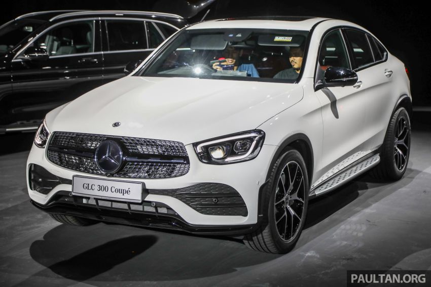 2020 Mercedes-Benz GLC300 4Matic Coupe facelift launched in Malaysia – new engine and MBUX, RM420k Image #1058016
