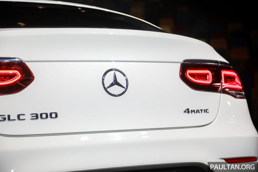 2020 Mercedes-Benz GLC300 4Matic Coupe facelift launched in Malaysia – new engine and MBUX, RM420k Image #1058057