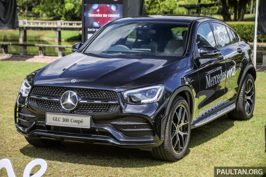 2020 Mercedes-Benz GLC300 4Matic Coupe facelift launched in Malaysia – new engine and MBUX, RM420k Image #1058067