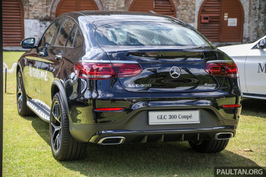 2020 Mercedes-Benz GLC300 4Matic Coupe facelift launched in Malaysia – new engine and MBUX, RM420k Image #1058070
