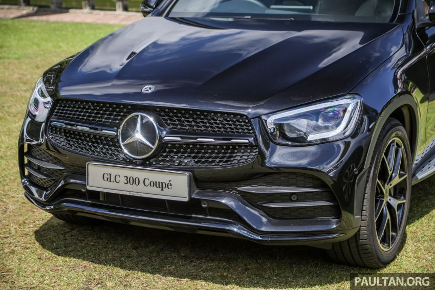 2020 Mercedes-Benz GLC300 4Matic Coupe facelift launched in Malaysia – new engine and MBUX, RM420k Image #1058072