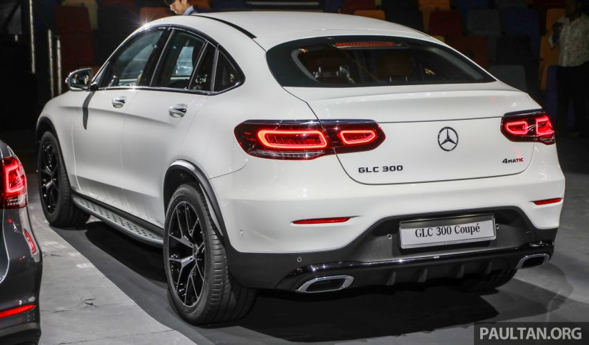 2020 Mercedes-Benz GLC300 4Matic Coupe facelift launched in Malaysia – new engine and MBUX, RM420k Image #1058019