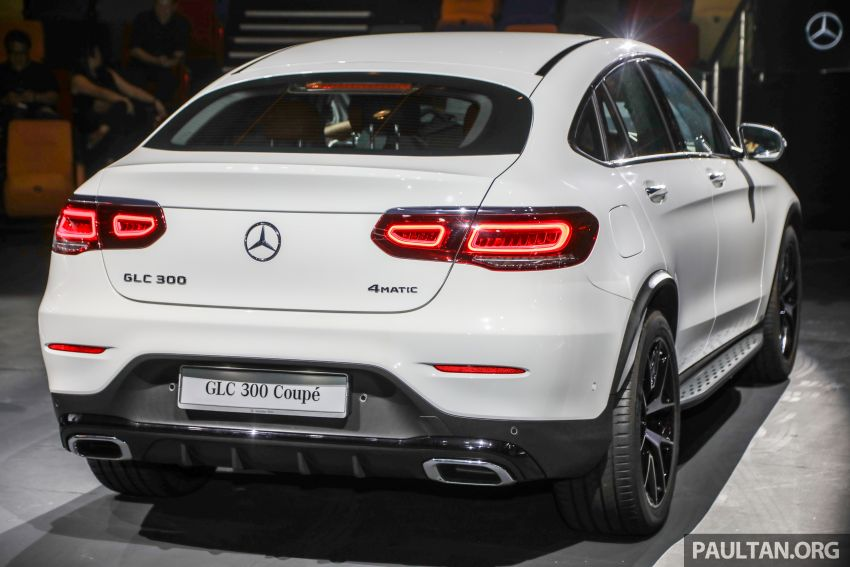 2020 Mercedes-Benz GLC300 4Matic Coupe facelift launched in Malaysia – new engine and MBUX, RM420k Image #1058021