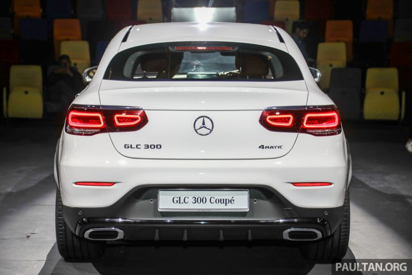 2020 Mercedes-Benz GLC300 4Matic Coupe facelift launched in Malaysia – new engine and MBUX, RM420k Image #1058026