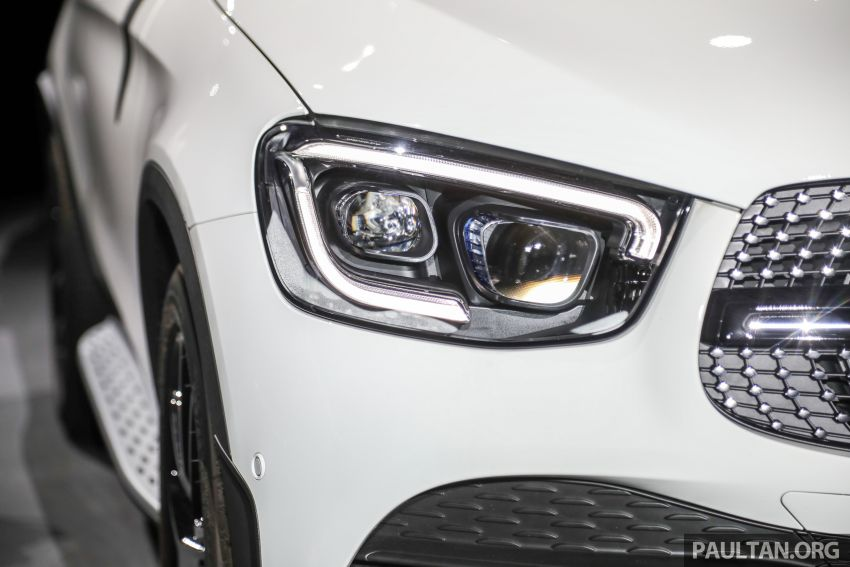 2020 Mercedes-Benz GLC300 4Matic Coupe facelift launched in Malaysia – new engine and MBUX, RM420k Image #1058030