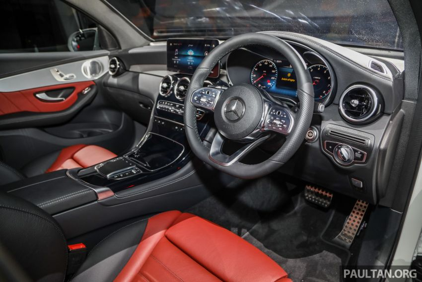 2020 Mercedes-Benz GLC300 4Matic Coupe facelift launched in Malaysia – new engine and MBUX, RM420k Image #1058077