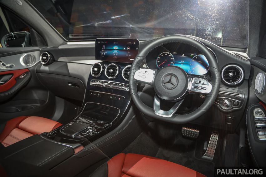 2020 Mercedes-Benz GLC300 4Matic Coupe facelift launched in Malaysia – new engine and MBUX, RM420k Image #1058110
