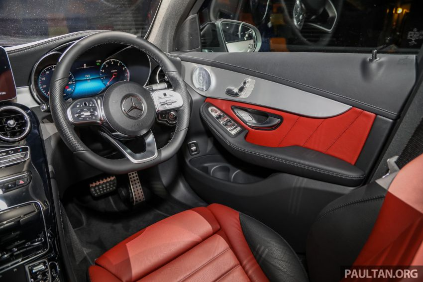 2020 Mercedes-Benz GLC300 4Matic Coupe facelift launched in Malaysia – new engine and MBUX, RM420k Image #1058112