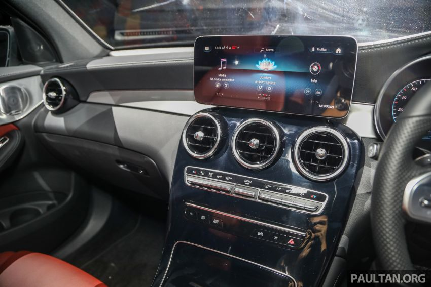 2020 Mercedes-Benz GLC300 4Matic Coupe facelift launched in Malaysia – new engine and MBUX, RM420k Image #1058085