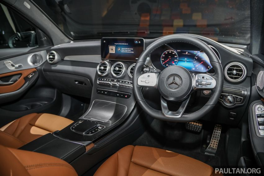 2020 Mercedes-Benz GLC facelift in Malaysia – GLC200 and GLC300 with new engines, MBUX, from RM300k Image #1058259