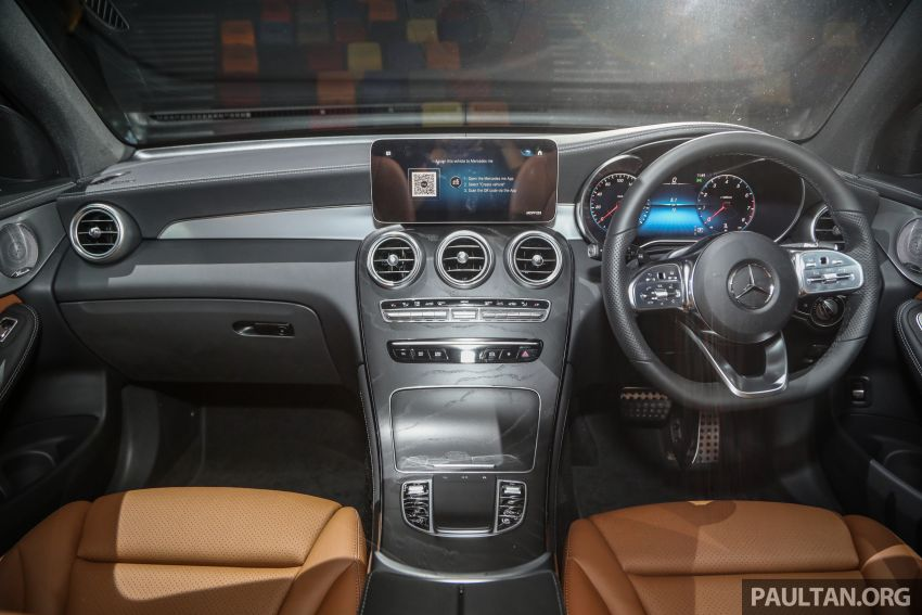 2020 Mercedes-Benz GLC facelift in Malaysia – GLC200 and GLC300 with new engines, MBUX, from RM300k Image #1058244