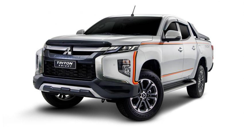 Mitsubishi Triton Knight – limited to 120 units; RM138k Image #1057894