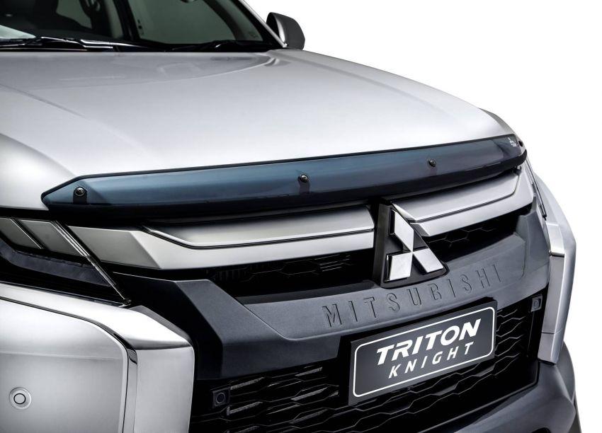 Mitsubishi Triton Knight – limited to 120 units; RM138k Image #1057896