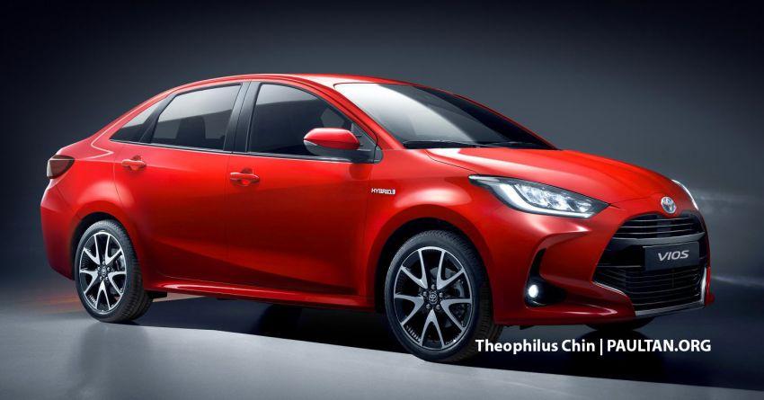Next-gen Toyota Vios rendered based on latest Yaris Image #1060750