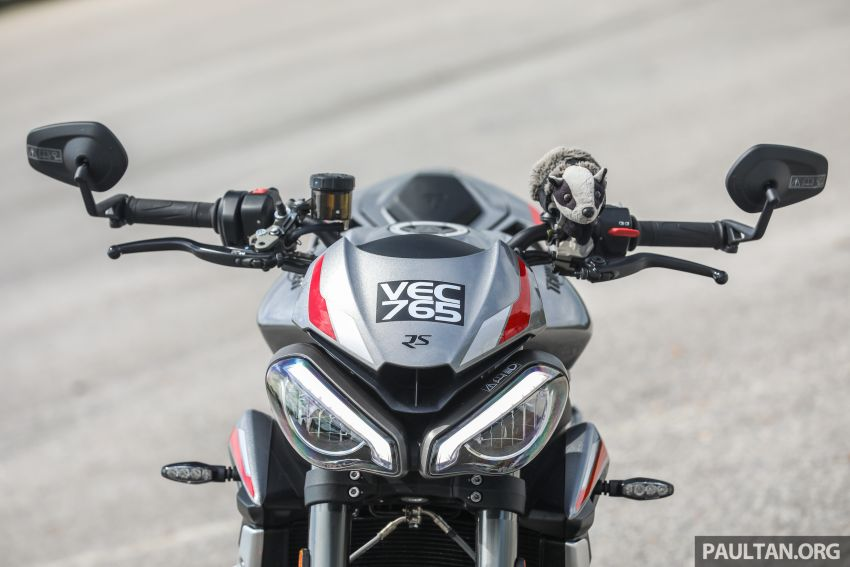 REVIEW: 2020 Triumph Street Triple 765RS naked sports – more of the same, but better, at RM67,900 Image #1054501