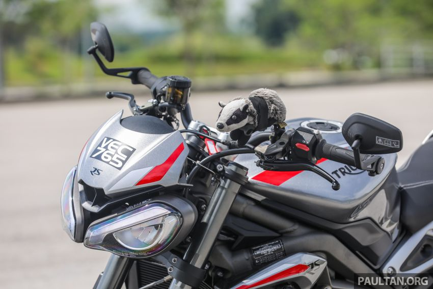 REVIEW: 2020 Triumph Street Triple 765RS naked sports – more of the same, but better, at RM67,900 Image #1054502